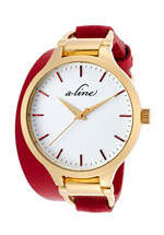 a_line watches - gemini red
