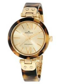 anne klein watch -women's gold tone