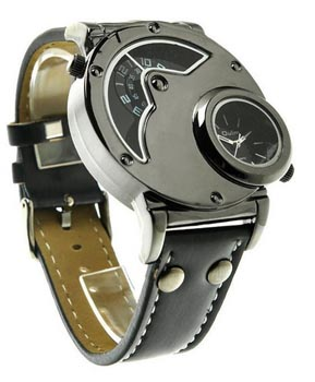 aposon watches men's dual time