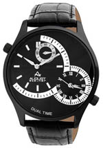 August Steiner watches - men's black dial