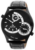 August Steiner watches - men's black dial