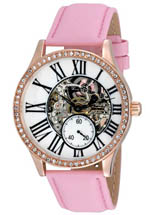 August Steiner watches - women's white mother of pearl