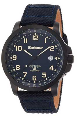 barbour watches men's swale blue