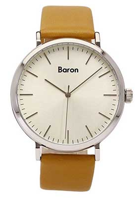 baron watches men's simple