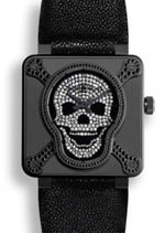 Bell & Ross watches - aviation skull