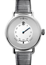 Bell & Ross watches - Heure Sautante platinum