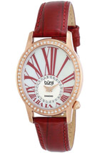 Burgi watches - white diamond