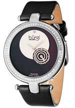 Burgi watches - women's diamond crystal