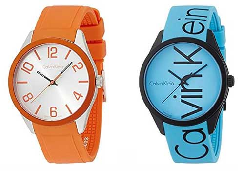 calvin klein watches quartz color
