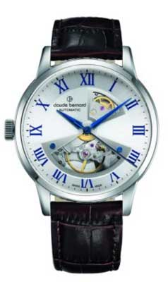 claude bernard watches left hand