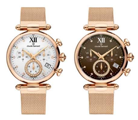 claude bernard womens chronograph