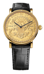 Corum watches - gold coin watch