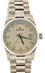 Croton watches - President day date 18k