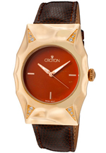Croton watches - women's Pumpkin Crown