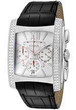Ebel watches - men's Brasilia Chronograph white dial