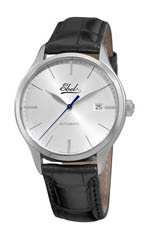 Ebel watches - men's Classic Dial silver