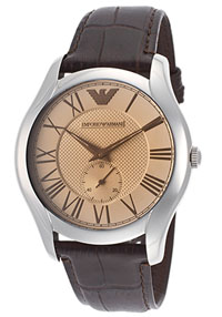 emporio armani mens designer watch