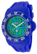 gebo watches - light blue dial blue silicone