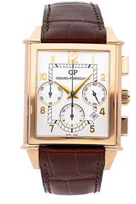 girard perregaux 1945 silver dial