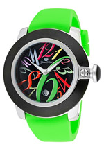 Glam Rock watches - Sobe Mood green