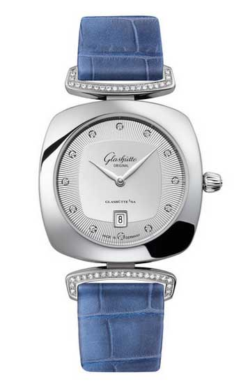 glashutte original watches ladies pavonina date