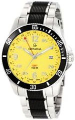 Grovana watches - sport gmt yellow