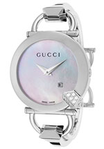 gucci watches womens chiodo white