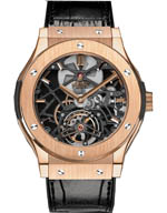 hublot skeletin tourbillon king gold
