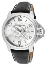 Jorg Gray watches - men's silver tone textured