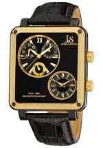 Joshua & Sons watches - black dial