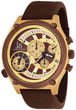 Joshua & Sons watches - brown and gold