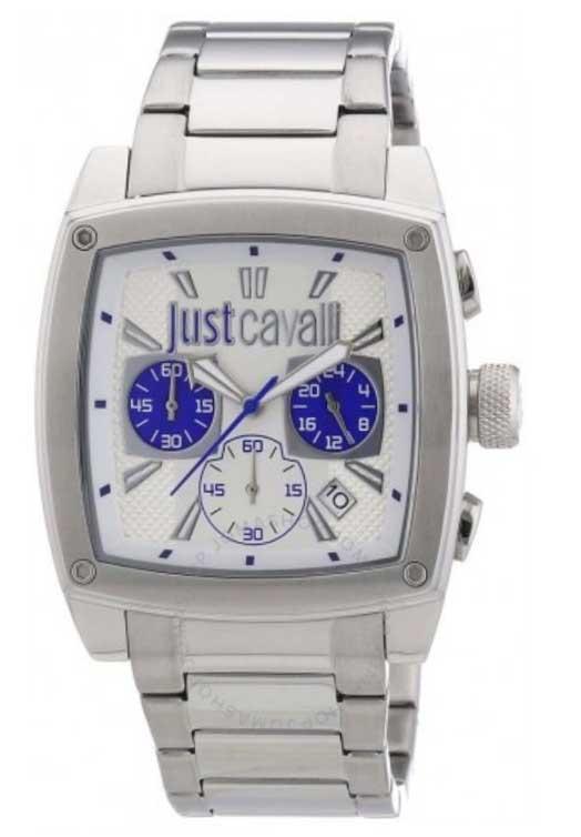 just cavalli watches pulp silver