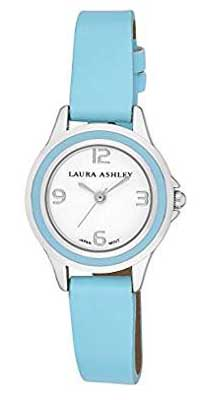 laura ashley quartz blue watch