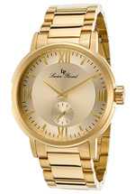 Lucien Piccard watches - Bremen gold tone