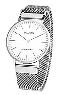 mamona watches men's milanese