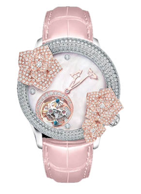 memorigin watches butterfly rose