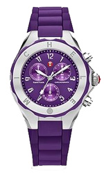 michele watches - tahitian jelly bean purple