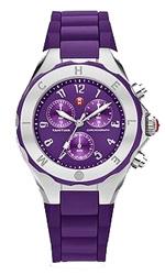 michele watches - tahitian jelly bean purple