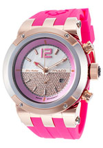 Mulco watches - women's blue marine pink