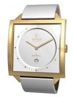 Obaku watches -unisex gold case
