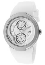 Philip Stein watches - women's active white rubber