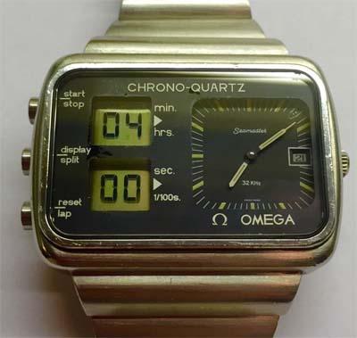 quartz chronograph