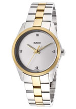 rado watches - women's diamond hyperchrome