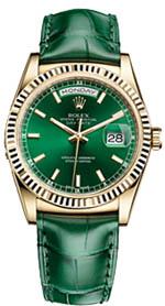 Rolex Day Date green