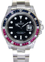 Rolex GMT Master II black dial