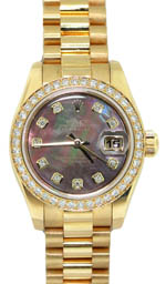 Rolex Datejust - Ladies 18k gold