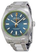 Rolex Milgauss blue dial
