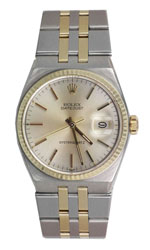 Rolex Oysterquartz Datejust silver