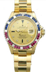 Rolex Submariner 18k yellow