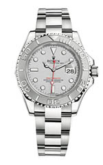 Rolex Yacht Master - steel and platinum